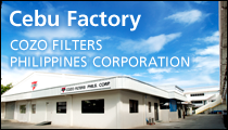 Cebu Factory COZO FILTERS PHILIPPINES CORPORATION
